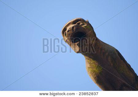 Yawning Gargoyle
