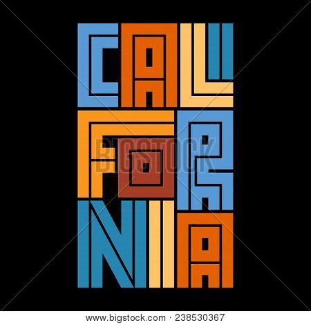 California Typography Vector & Photo (Free Trial) | Bigstock