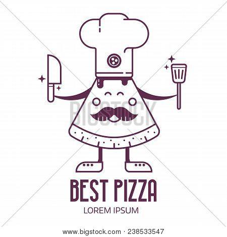 Bakery Pizzeria Logo Vector & Photo (Free Trial) | Bigstock