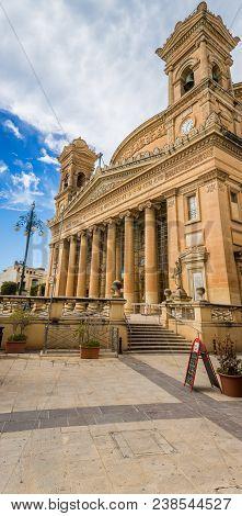Mosta Rotunda Dome, The Parish Church Of The Assumption Of Mary,  Roman Catholic Parish Church, Most