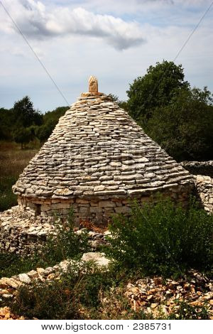 Traditional Istrian Lurk In The Nature
