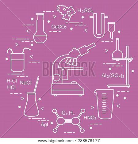Chemistry Scientific Vector Photo Free Trial Bigstock