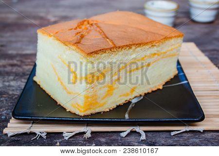 Popular Taiwanese Styled Sponge Cake, Taiwanese Fluffy Egg Sponge Cake.