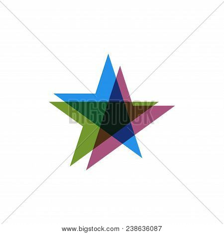 Star Icon. Star Logo. Star Symbol. Star Template Ready For Use