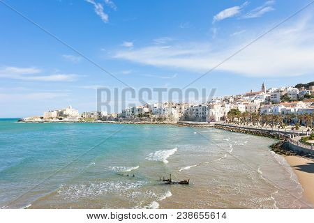 Vieste, Italy, Europe - Old Central City Of The Beautiful Town Called Vieste