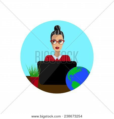 Geography Teacher In Study, Female Teacher, Female Librarian, Teacher Day, Strict Teacher, Business