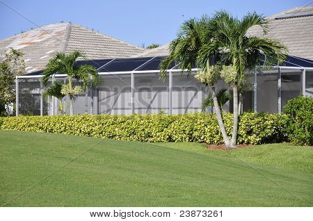 Screen Porch For Home In Naples, Florida