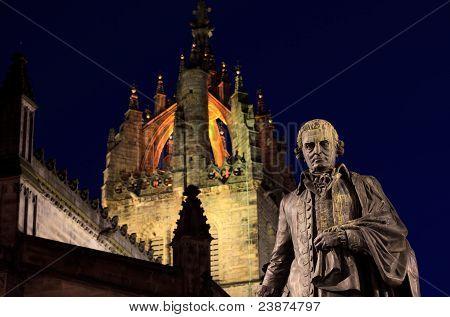 Statue Of Adam Smith