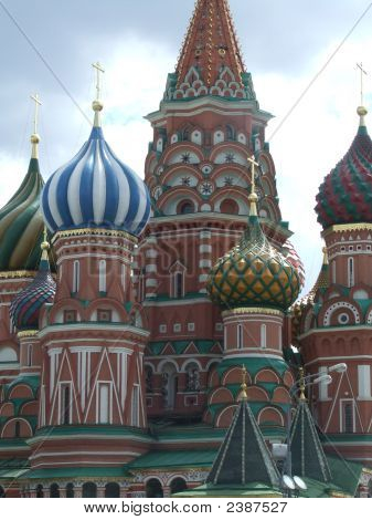 St Basil'S Cathedral In The Red Square, Moscow, Russia