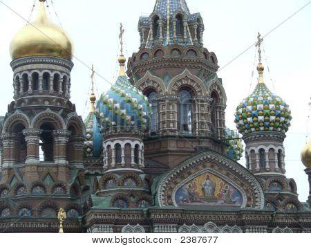 St Petersburg, Russia - Cathedral Of Spilled Blood