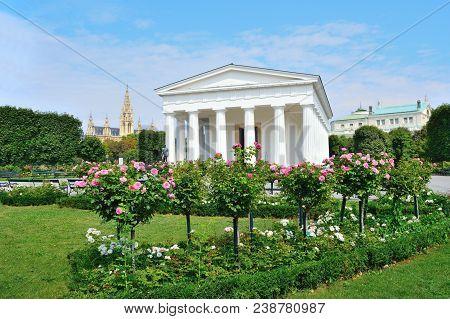 Austria. Wonderful Architecture Of Vienna In A Sunny Summer Day