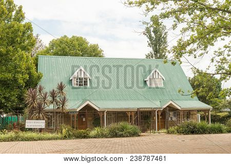 Winterton, South Africa - March 18, 2018: The Historic Museum In Winterton In The Kwazulu-natal Prov