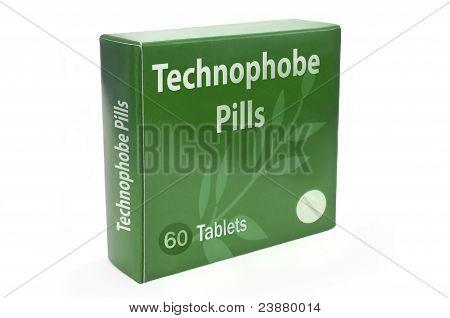 Technophobia Cure Concept.