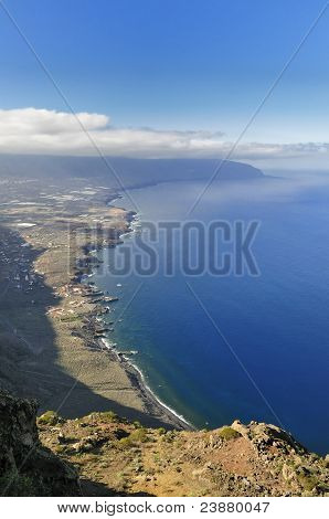 Hierro Island, Volcanic Island In The Canary Islands