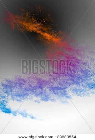 Abstract Color Dark