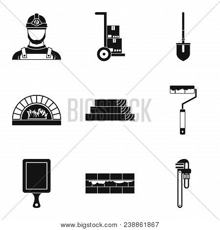 Complexity Work Icons Set. Simple Set Of 9 Complexity Work Vector Icons For Web Isolated On White Ba