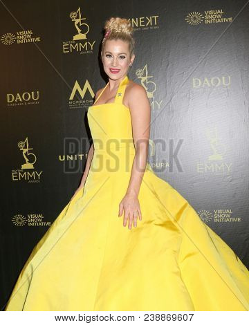 LOS ANGELES - APR 29:  Kellie Pickler at the 45th Daytime Emmy Awards at the Pasadena Civic Auditorium on April 29, 2018 in Pasadena, CA