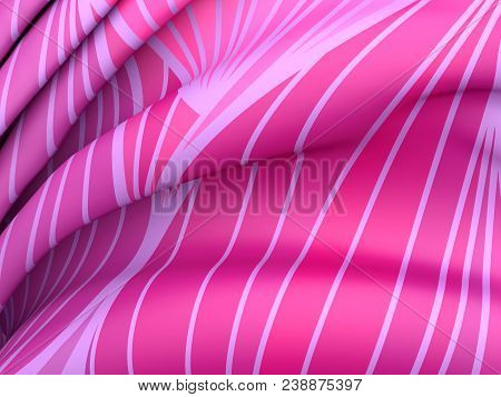 Beautiful Colorful Silk. Drapery Textile Background. Abstract Soft Elegant Color Satin