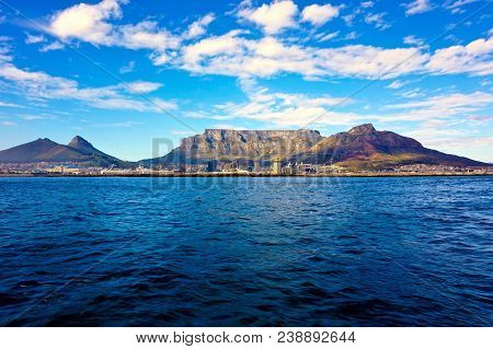 Mountain At The Sea Shore During Daytime, Cape Town.