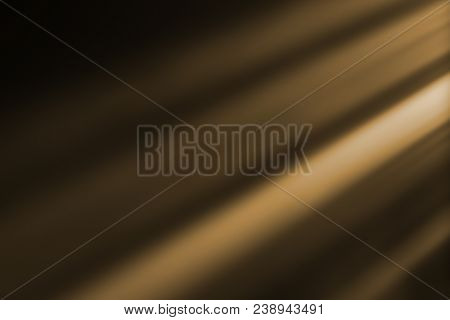 Gold Warm Color Bright Lens Flare Rays Flashes Leak For Transitions On Black Background,movie Titles