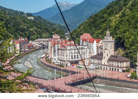 The Ski Resort Rosa Khutor Is Located In The Vicinity Of The City Of Sochi. At Any Time The Resort I