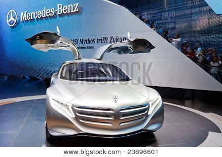 Mercedes-benz F125 Concept Car