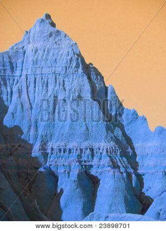 Moods of Nature: Badlands Blue Rising