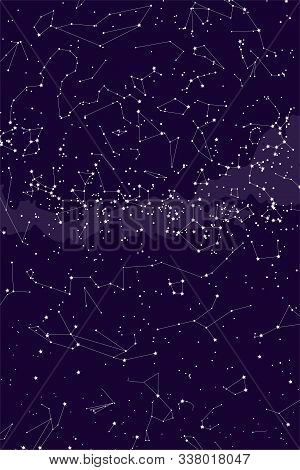 True Constellations Of The Southern Hemisphere. Southern Hemisphere, Star Map. Science Astronomy, St