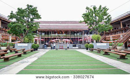 Bangkok, Thailand - November 2 2019 : Lhong1919 Is A Place Where Countless Chinese Diasporas First S