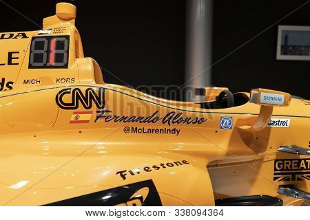 Mclaren Honda Andretti With Whom Fernando Alonso Competed In Indy Car In 2017. Photo Taken At The Fe