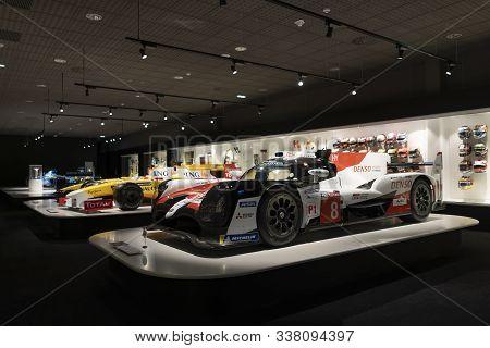 Toyota Gazoo Racing. Car With Which Fernando Alonso Won The 2018-2019 Wec World Endurance Championsh
