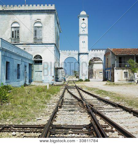 railway station, C�¡rdenas, Matanzas Province, Cuba