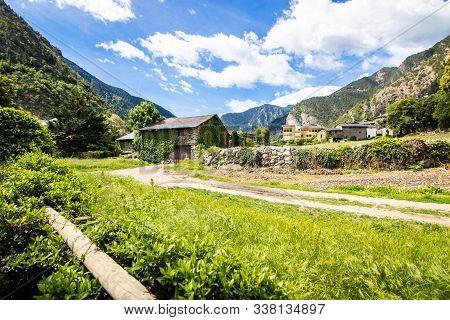 Santa Coloma D'andorra, Also Known As Santa Coloma, Is An Andorran Town In The Parish Of Andorra La