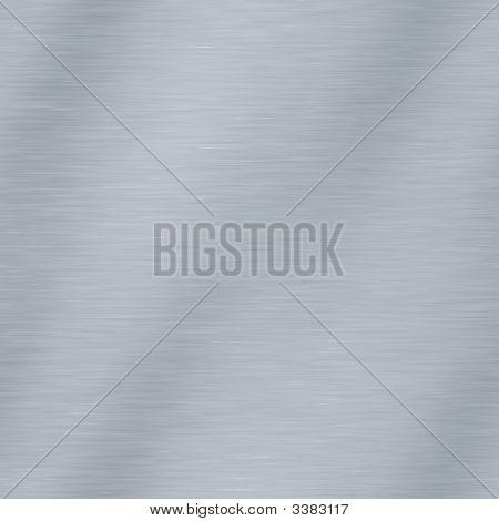 Brushed Metal Surface Seamless Tiling