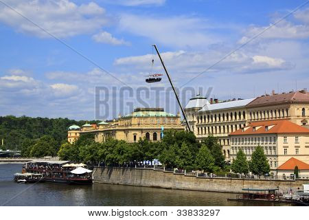 View of Prague, Pendulous restaurant