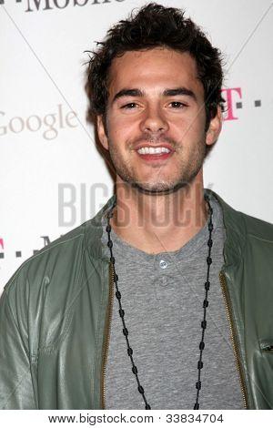 LOS ANGELES - NOV 16:  Jayson Blair arrives at the Google Music Launch at Mr. Brainwash Studio on November 16, 2011 in Los Angeles, CA
