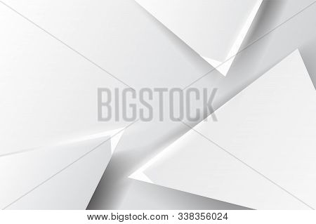 White Background.triangle Geometric Shapes Gray And Black Minimal Decoration For Graphic Card,templa