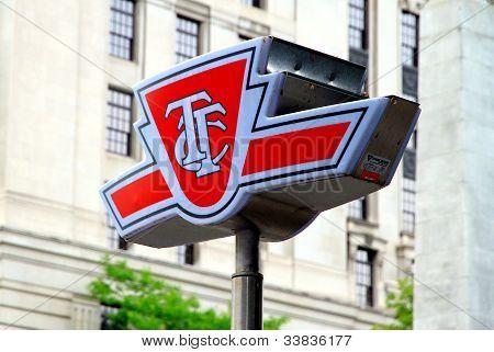 Toronto Transit Commission Symbol