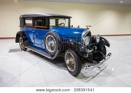 Moscow, Russia - April 06, 2019: Lorraine-dietrich Retro Car At The Free Of Charge Exhibition At The