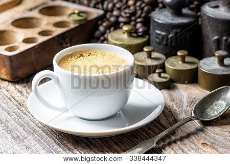 Coffee Cup With Metal Weights