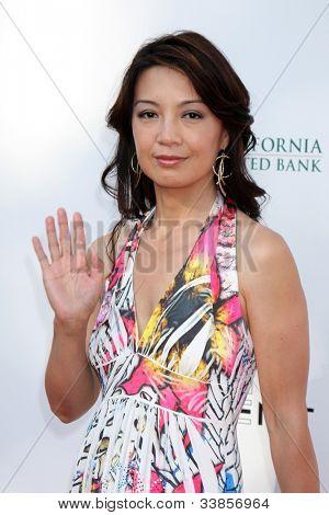 LOS ANGELES - JUN 9:  Ming-Na arriving at