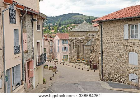 May 3, 2015 - Puy-en-velay, France: The Medieval Streets Of Le Puy-en-velay City The Famous Destinat