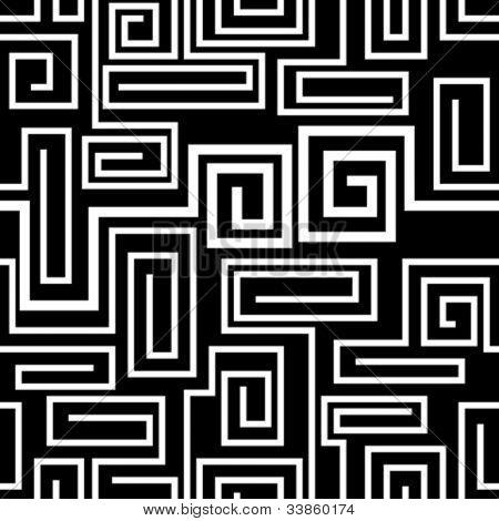 Seamless labyrinth pattern