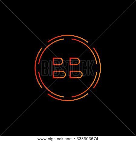 Initial Bb Letter Logo With Creative Modern Business Typography Vector Template. Creative Abstract L