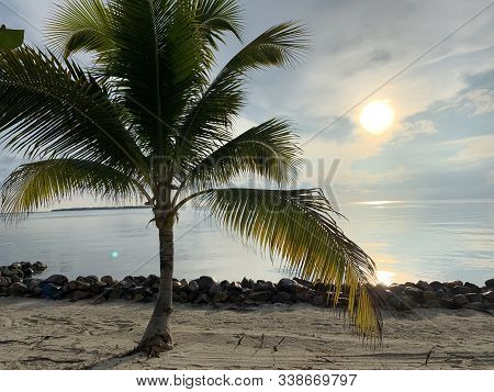 Beautiful Beach And Ocean In Placencia, Belize