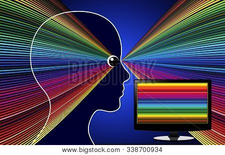 Screen Time Affects Eyes And Brain. Digital Devices Interfere With Everything From Creativity To Eye