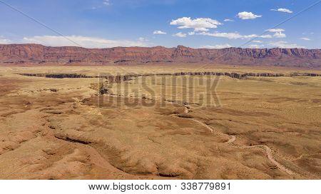Clouds Overhead At Vermillion Cliffs Navajo Territory Desert Southwest