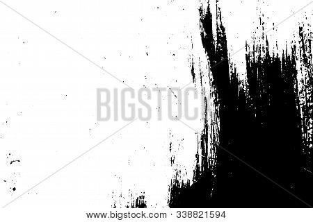Abstract Background, Old Wooden Surface. Vector Wood Texture.