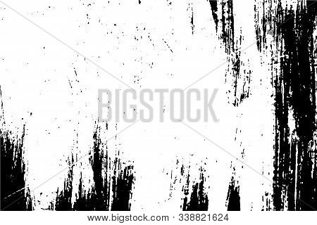 An Old Wooden Surface. Abstract Vector Background, Wood Texture.