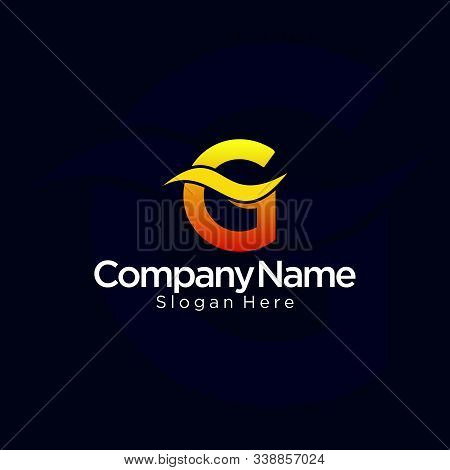 G Logo, G Logo Design, Initial G Logo, Circle G Logo, Real Estate Logo,  Letter G Logo, Creat Save D